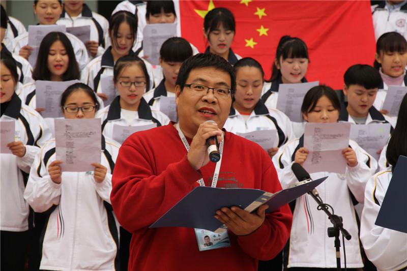"""第六届""""唱红歌、诵经典""""班级风采大赛31"""